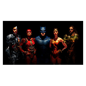Justice League. Размер: 110 х 60 см